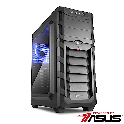 華碩B360平台【武聖先鋒】i5六核SSD效能電腦