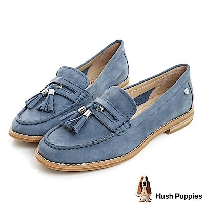 Hush Puppies CHARDON 便士樂福鞋-藍色