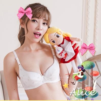 少女內衣 可愛貓咪絲棉內衣B-D(2件組)艾莉絲少女