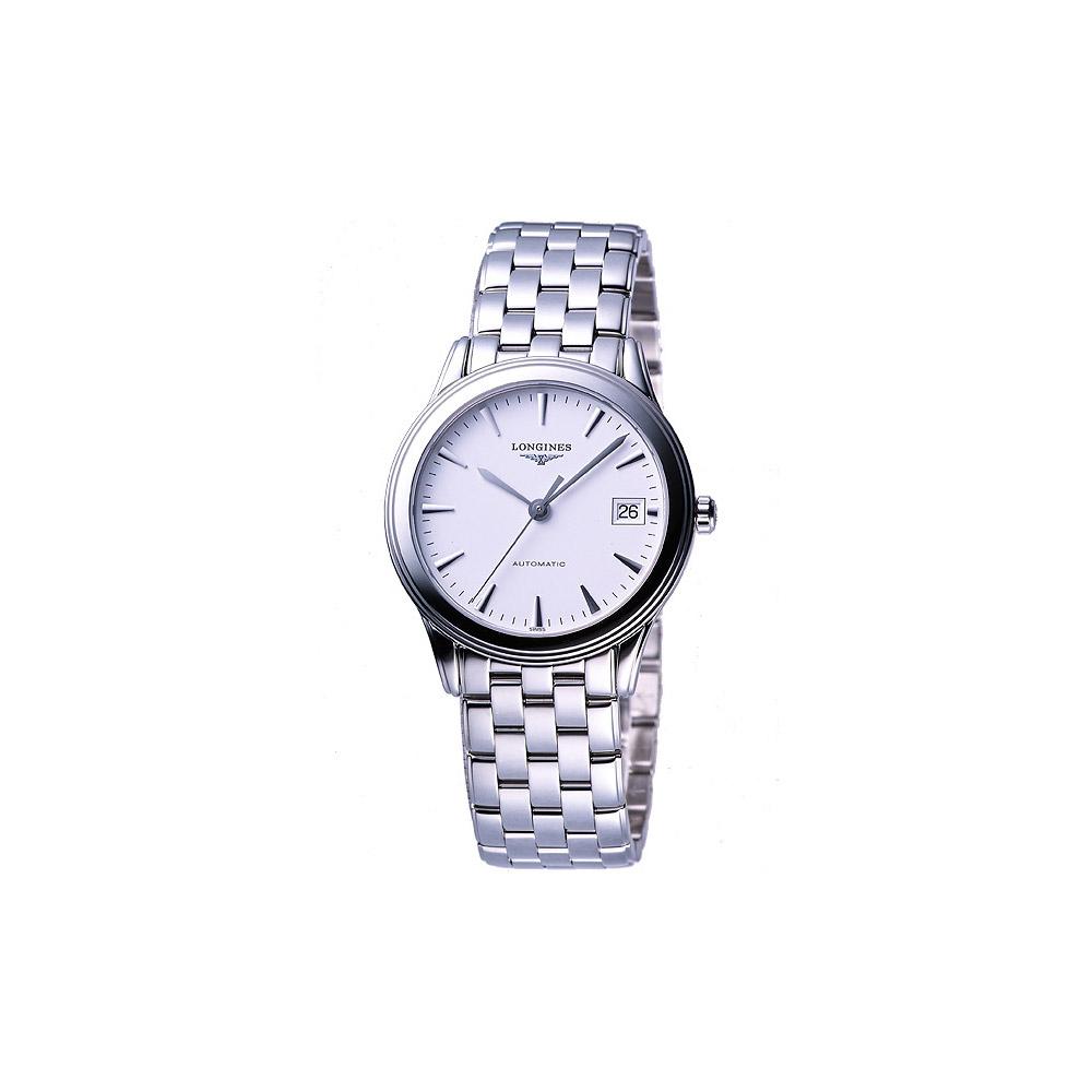 LONGINES 典藏系列典藏機械腕錶-白