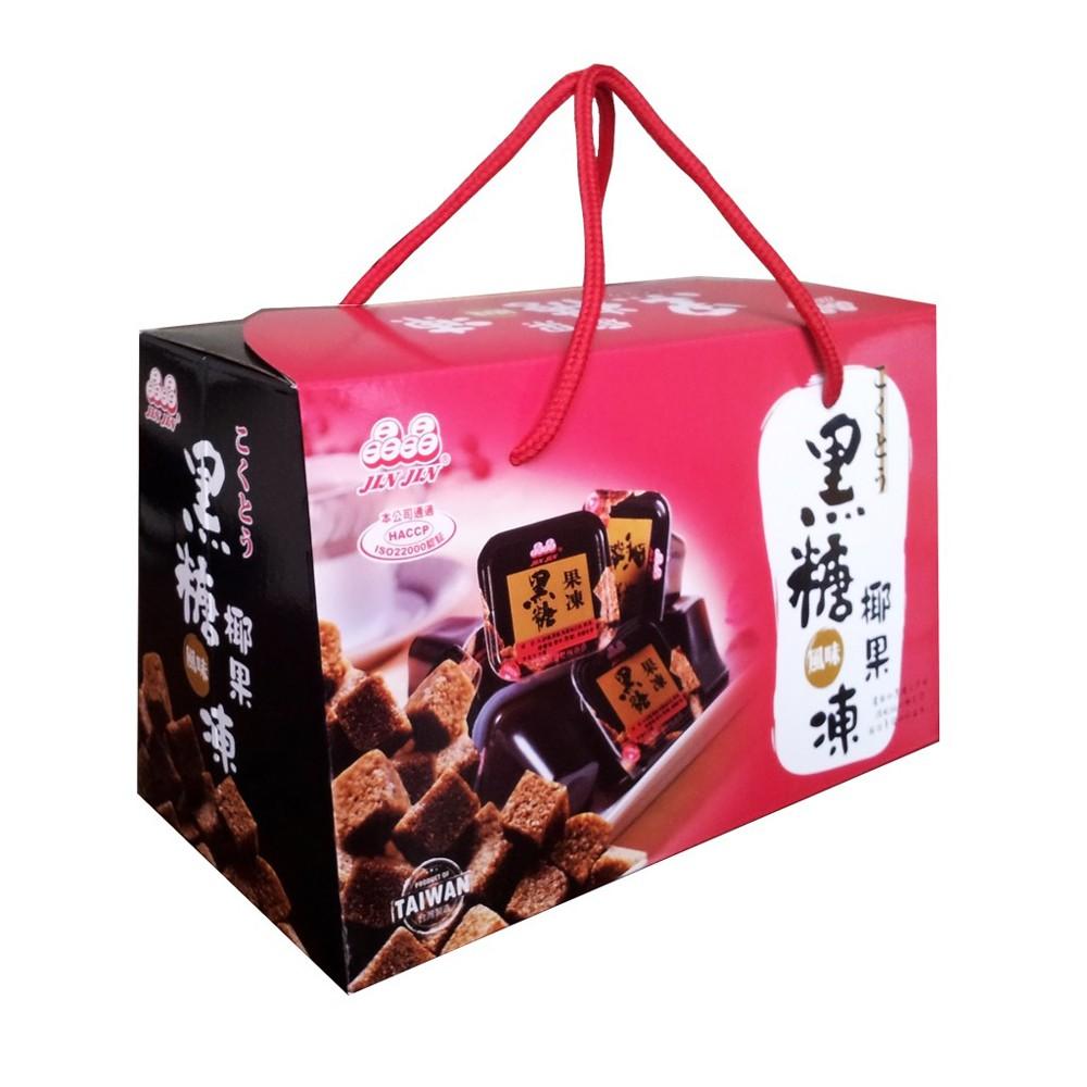 晶晶 黑糖椰果果凍禮盒(1150g/盒)
