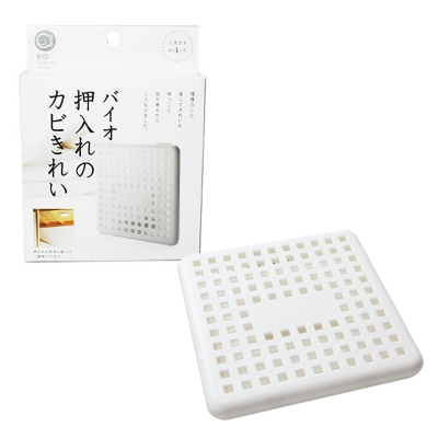 日本製 Bio衣櫃壁櫥除臭防霉盒(2盒)
