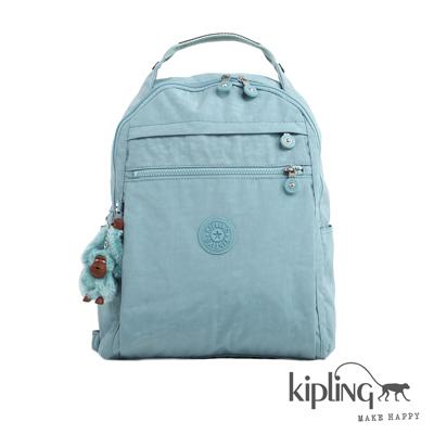 Kiplimg-後背包-石灰藍素面