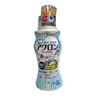 日本獅王LION 精製衣物專用洗衣精-天然皂香(500ml)