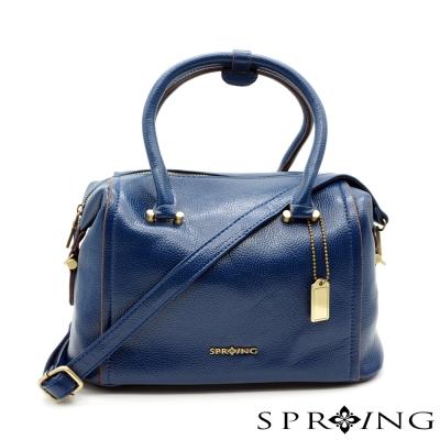 SPRING-Aurora歐若拉2way枕頭包-藍
