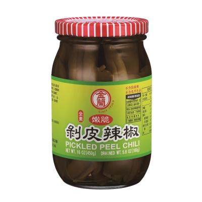 金蘭 剝皮辣椒(450g)