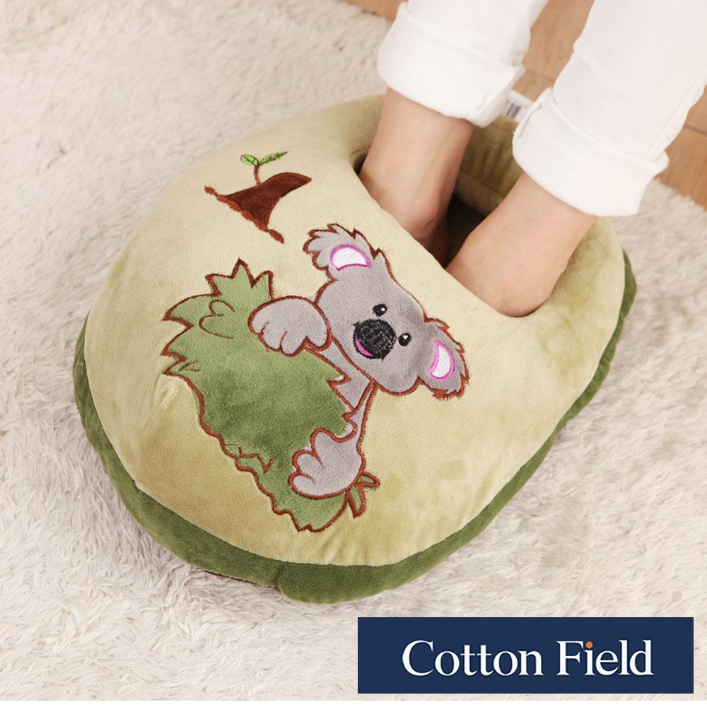棉花田 無尾熊 超柔貼布刺繡暖腳枕