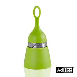 德國AdHoc 漂浮濾茶器(鮮綠)