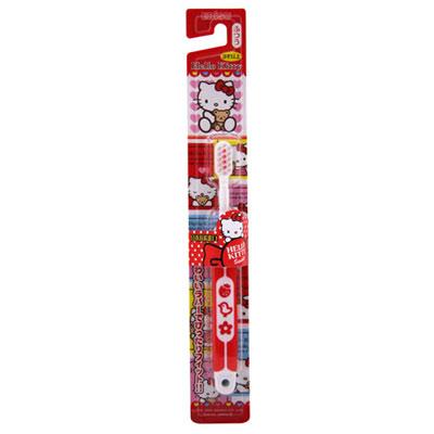 EBISU-Hello Kitty 軟柄兒童牙刷 B-S741