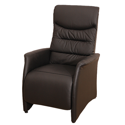 Sun Pin_盎格魯公爵半牛皮躺椅-黑色