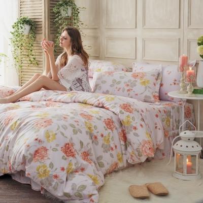 MONTAGUT-格拉絲情歌-200織紗精梳棉-鋪棉床罩組(加大)