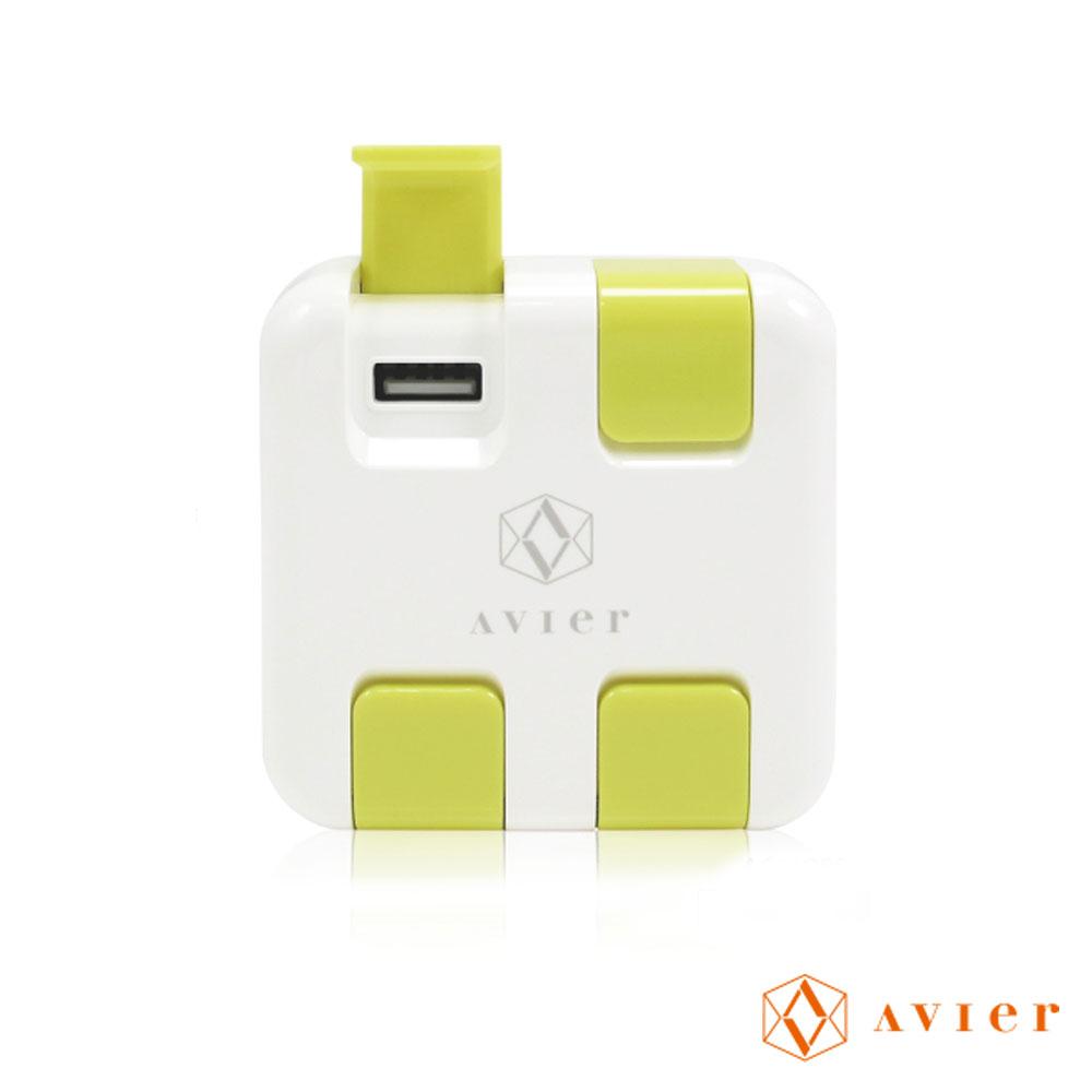 Avier-變形金鋼5A四孔USB急速充電座(H55)