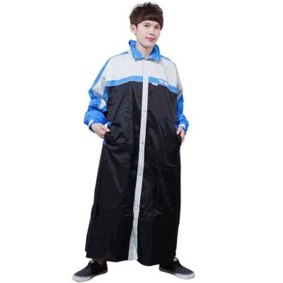 JUMP第二代俏麗輕柔前開風雨衣-黑/藍/銀+通用雨鞋套