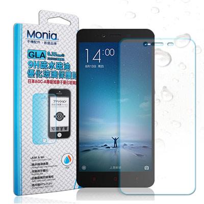 MONIA 小米 Xiaomi 紅米 Note 2 日本頂級疏水疏油9H鋼化玻璃...