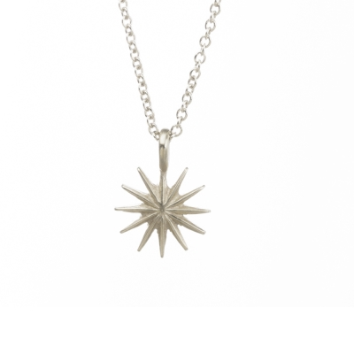 Dogeared 光芒星星 starburst 成就非凡 銀色許願項鍊 附原廠盒
