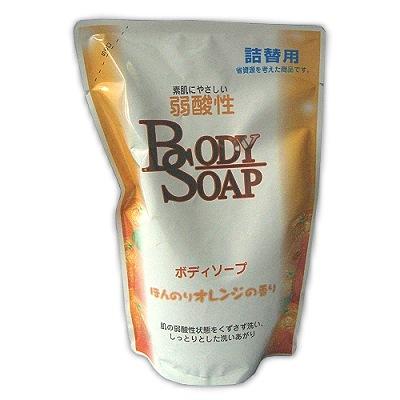 日本製造柑橘沐浴乳補充包(2包裝)