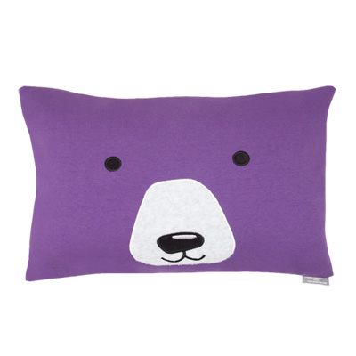 Yvonne Collection大白熊抱枕-紫(30x45cm)