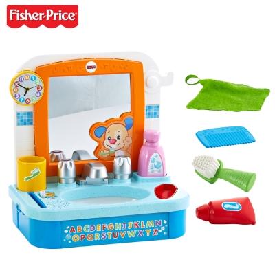 美國 Fisher Price 費雪 三階段刷牙洗臉學習組