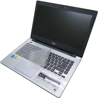 Ezstick ACER Aspire V14 V3-472G專用 奈米銀抗菌TPU鍵盤膜