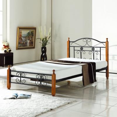 床架-單人3-5尺-愛得乃納-鐵床-AS