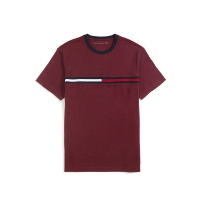 Tommy Hilfiger T-SHIRT 短袖 T恤 紅色 04