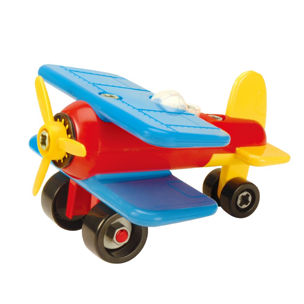 美國【Battat】雙翼戰鬥機