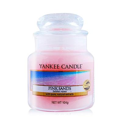 YANKEE CANDLE香氛蠟燭-粉紅沙104g