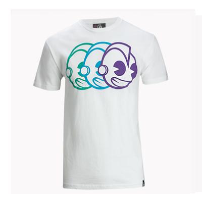 【kitson】kidrobot 幻影機器人/短T恤(white)