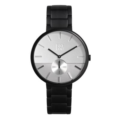 ZOOM SKYLINE 地平線概念腕錶-白 /44mm