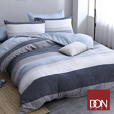 DON線條協奏 雙人四件式天絲兩用被床包組