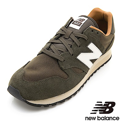 New Balance復古鞋 U520BG-D 中性 墨綠
