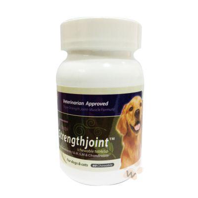 美國V霸《葡萄糖胺軟骨素錠》強化關節肌肉軟骨配方60錠-1入