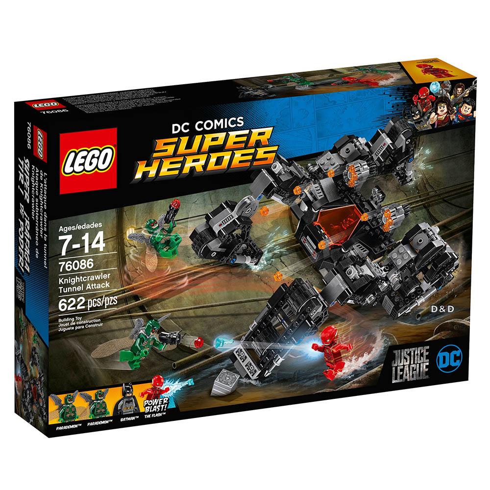 樂高LEGO 超級英雄系列 - LT76086 Knightcrawler Tunnel