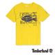 Timberland 男款黃色創意印花短袖T
