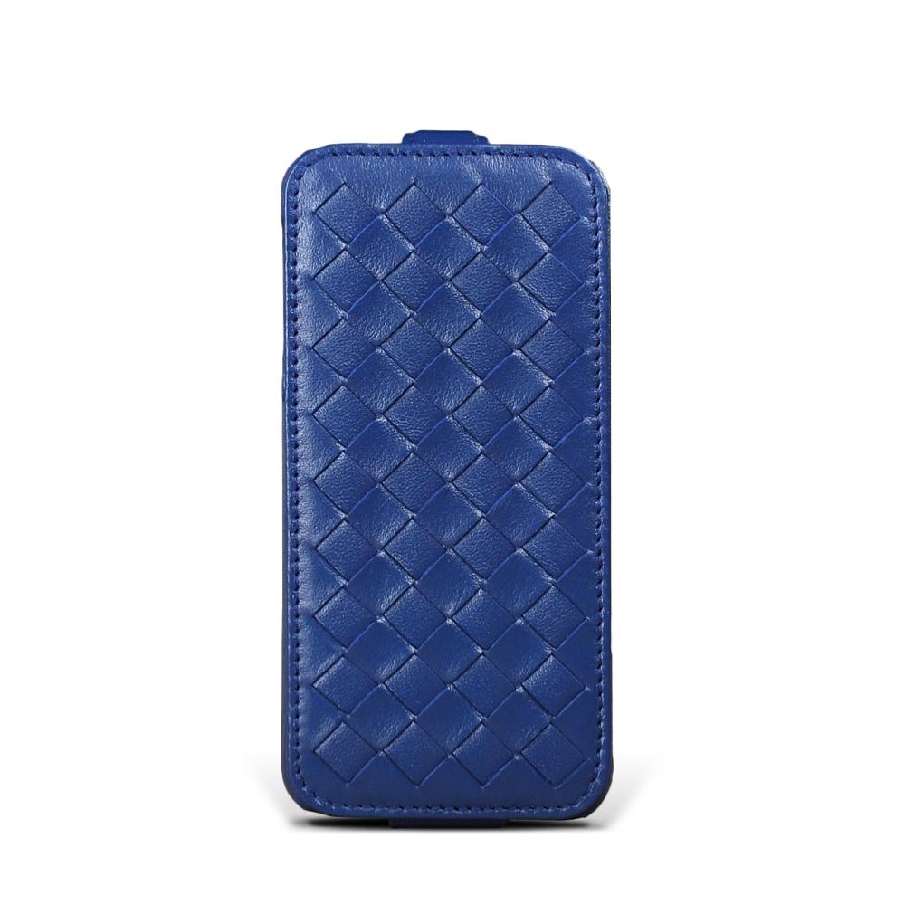 STORY皮套王 APPLE iPhone 5 / 5S / SE 硬殼式下蓋編織 客製化