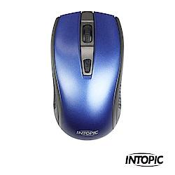 INTOPIC 廣鼎 2.4GHz飛碟無線光學鼠(MSW-726)