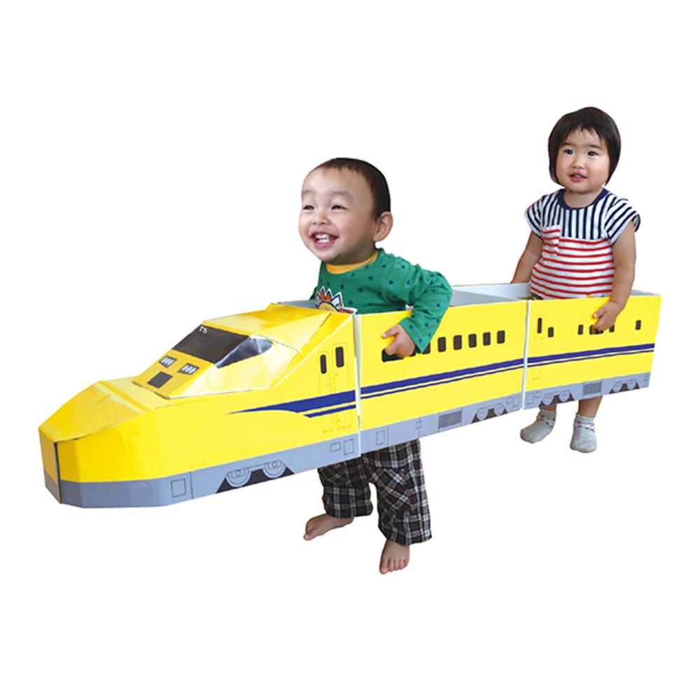 日本CAR-BOY 自由彩繪新幹線黃醫生T5