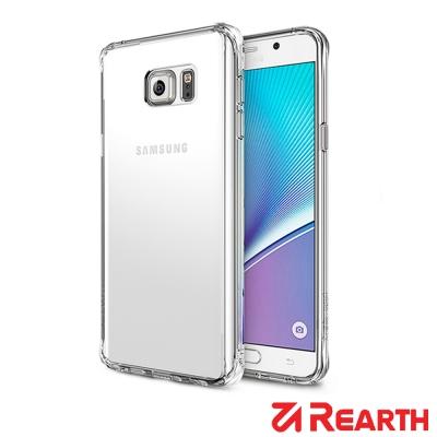 Rearth 三星Galaxy Note 5 透明保護殼(贈送保護貼)