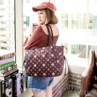 KINAZ casual 多袋造型托特包-青春的微旅行系列