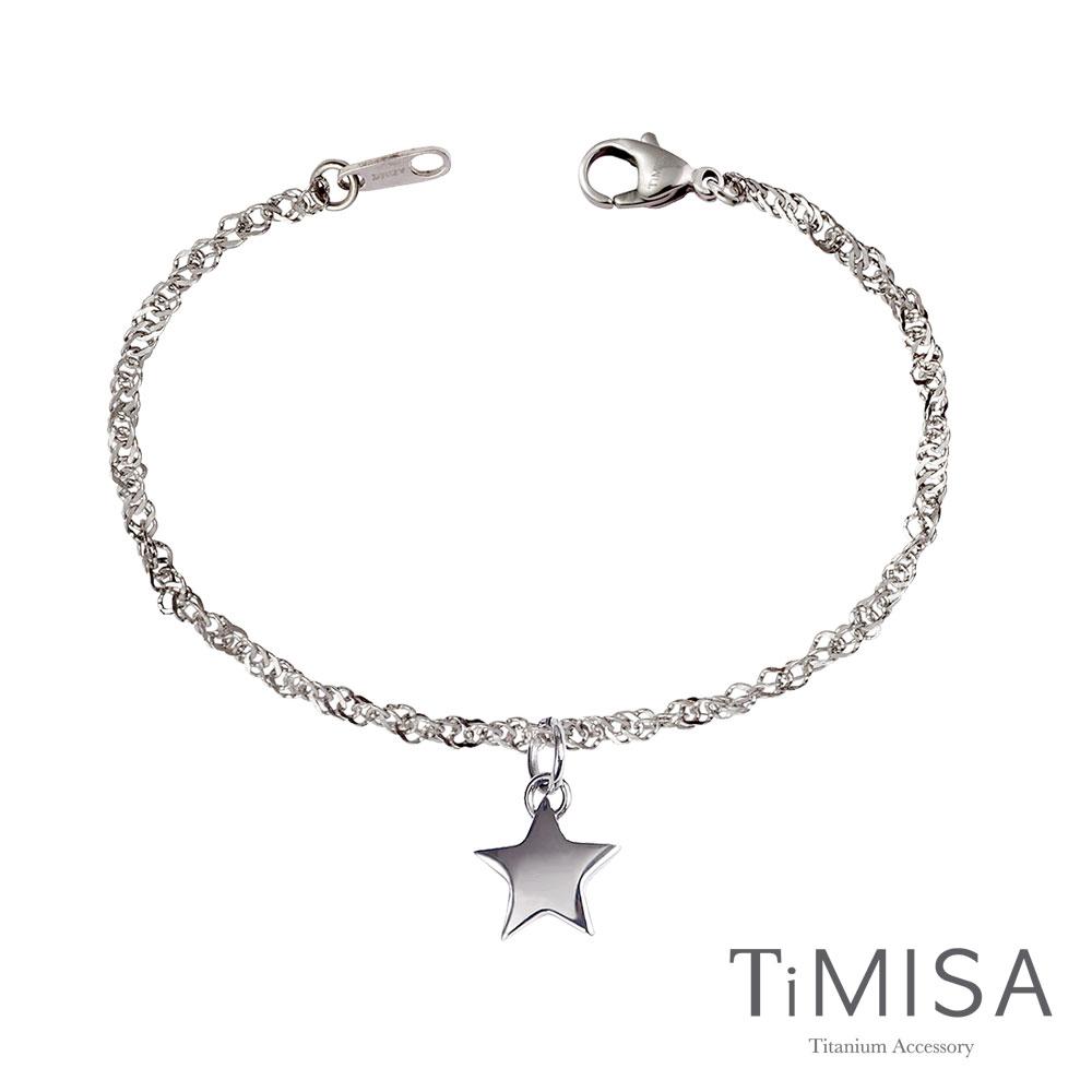 TiMISA《幸運愛戀》純鈦手鍊