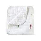 美國 aden+anais嬰幼兒有機棉被毯-蜻蜓系列AA9142