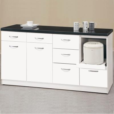 【CASA卡莎】明石家5.2尺簡約石面收納櫃