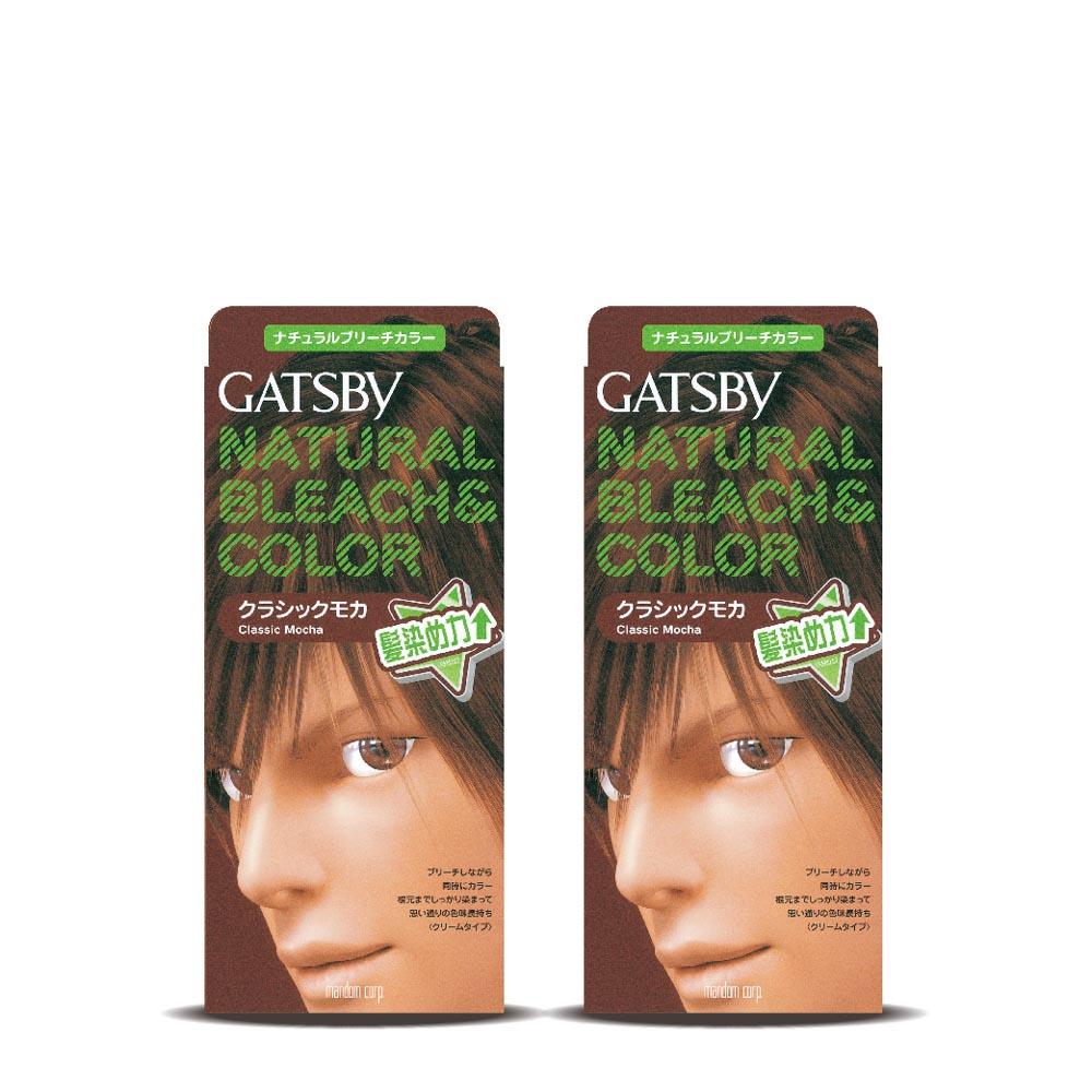 GATSBY無敵顯色染髮霜摩卡深棕179gx2