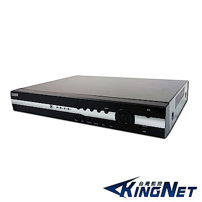 KINGNET-聲寶監控大廠 16路HD1080P TVI+AHD+CVI+960H+IP