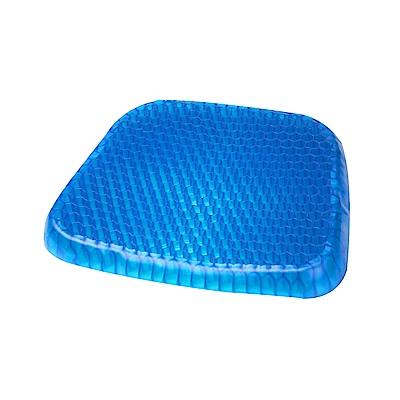涼感蜂巢凝膠坐墊(內附-專用防滑椅套)可水洗