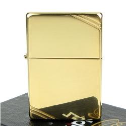 【ZIPPO】美系~Vintage-1937復刻版打火機-黃銅鏡面款