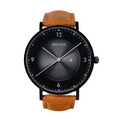PICONO VINYL系列 輕薄真皮錶帶手錶(VL-6605)