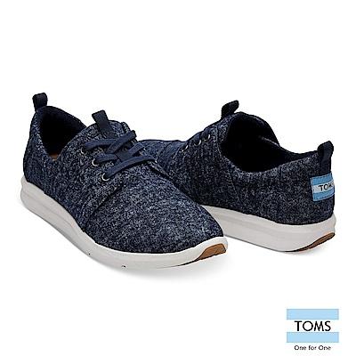 TOMS 混色水洗丹寧休閒鞋-女款