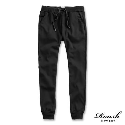 ROUSH 基本款海狸毛保暖縮口棉褲 (4色)