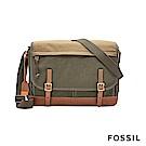 FOSSIL DEFENDER 雙口袋商務工作包-灰色